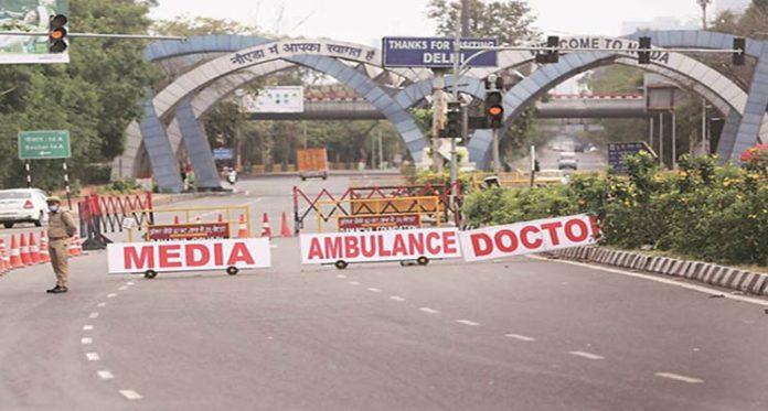 Delhi-Noida Border