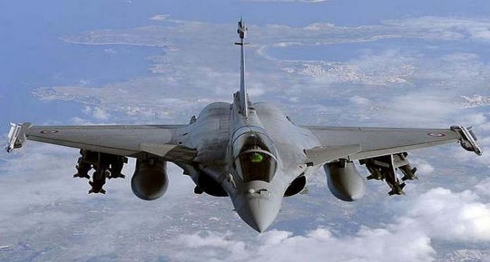 Rafale Fighter Jet in Ladakh