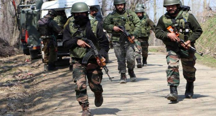 Terrorists Killed in Machil Sector