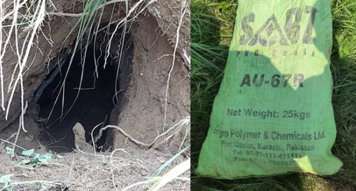 BSF finds Tunnel