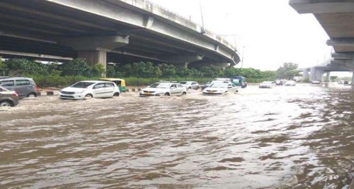 Heavy Rainfall in Delhi