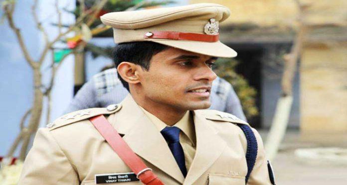 Bihar IPS Vinay Tiwari