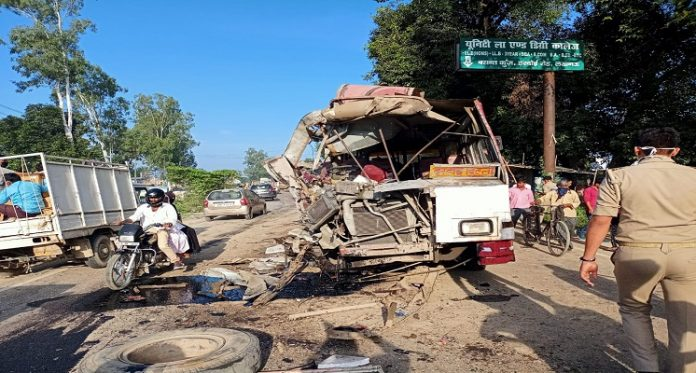 Lucknow Bus Accident