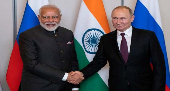 Russia Partnership With India