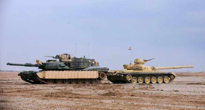 T90 And T72 Tank