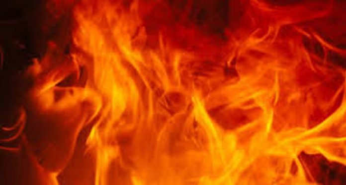 Father-Son Burnt Alive