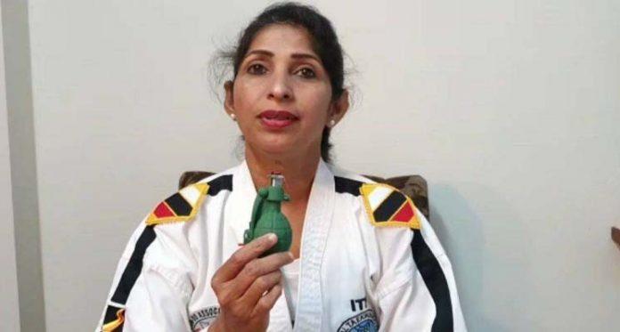 hand grenade for women