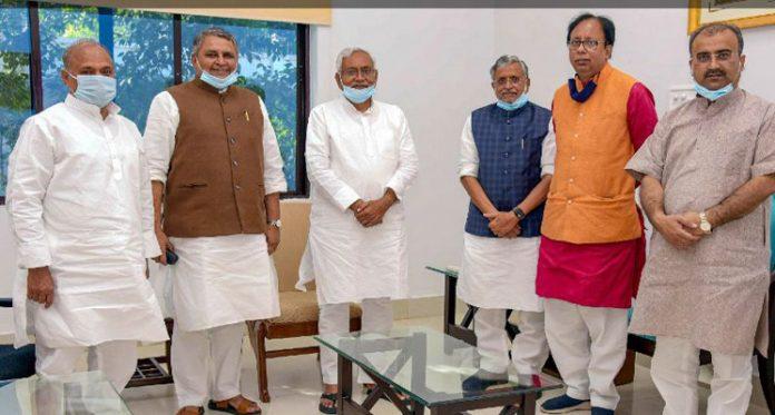 Bihar NDA Meeting