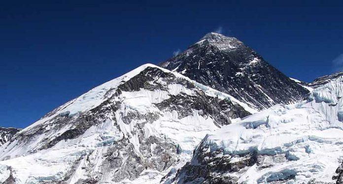 Mount Everest Height