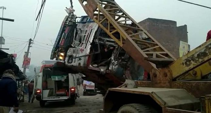 Road Accident in UP